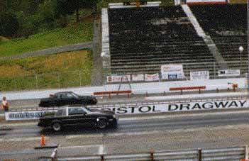 Me racing a GN at bristol.