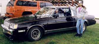 Between runs at National Performance Buick day 1997 Canada.