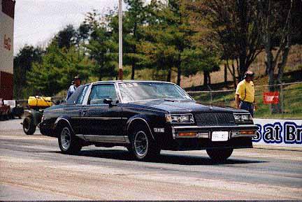 Racing at Bristol in 1997