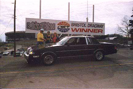 Me accepting a trophy for the car show from Jim Hass